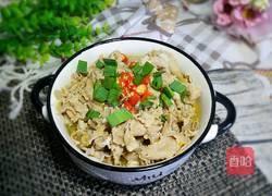 香菇薯粉汆肥羊的做法图解1
