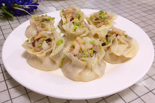 香菇虾仁肉粒烧卖