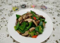香菇炒圆椒