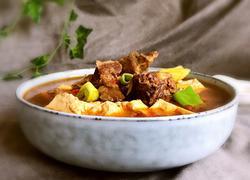 老汤牛腩炖豆腐