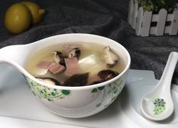 火腿豆腐蘑菇汤