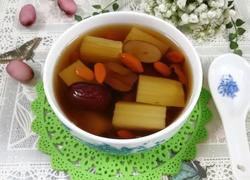 甘蔗红枣杞子冰糖水