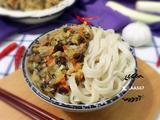 打卤面(白菜木耳胡萝卜肉丁卤)的做法[图]