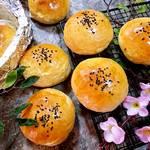 蜜豆餐包的做法[图]