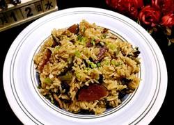 酸豆角腊肉焖饭