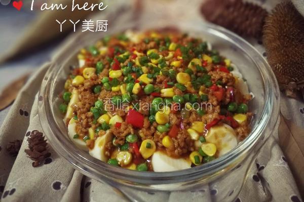 什锦鸡蛋豆腐