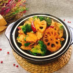 肉片蔬菜焖锅
