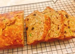 全麦西葫芦燕麦快手面包