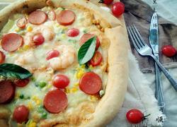 黑麦什锦披萨