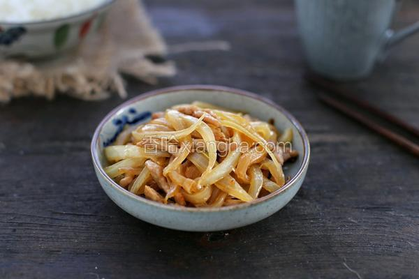洋葱炒肉丝