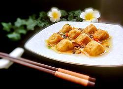 三角油豆腐镶肉