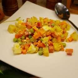 火腿青豆沙拉