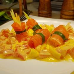 熏三文鱼沙拉