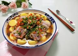 五花肉蒸豆腐