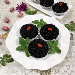 黑米小糕点