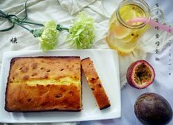 百香果蜂蜜磅蛋糕