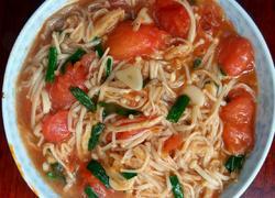 茄汁金针菇