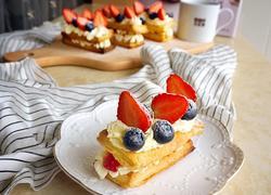 拿破仑草莓酥