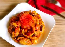蕃茄黄金鱼片