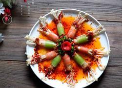 五彩金针菇卷