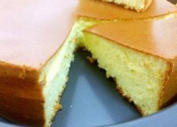 八寸蜂蜜戚风蛋糕