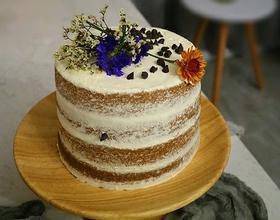 fluff焦糖奶油裸蛋糕
