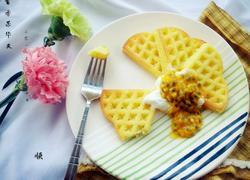 百香果华夫饼