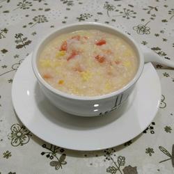 西红柿鸭蛋粥