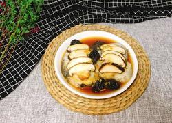 西梅香菇蒸鳕鱼