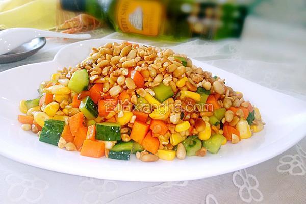 杂蔬松仁玉米丁