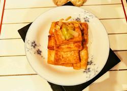 香煎红烧豆腐