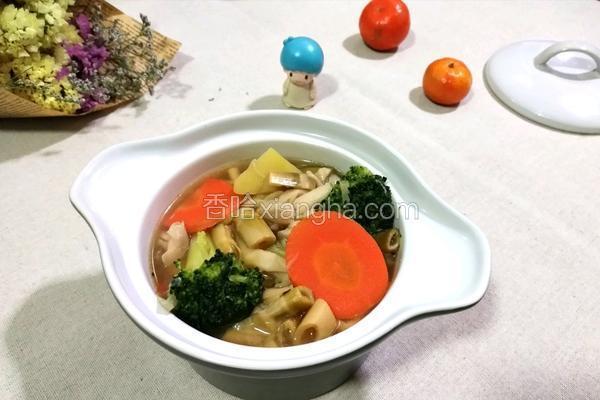 咸笋蔬菜汤