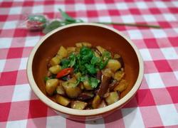 干锅土豆茄子