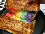 彩虹芝士面包的做法[图]