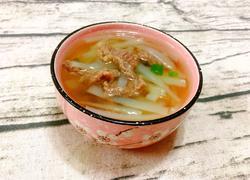 芥菜头牛肉汤