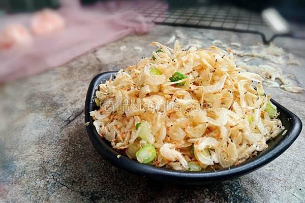 葱香炒虾皮