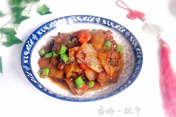 冬瓜小炒肉