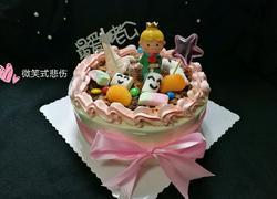 小王子情景生日蛋糕