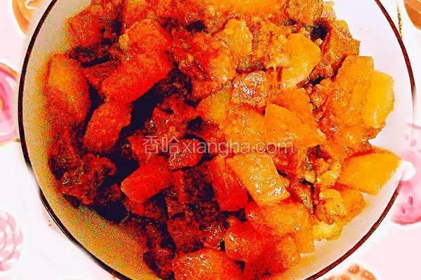 红烧味道――牛肉炖白萝卜