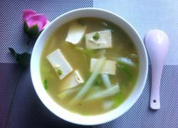 虾皮豆腐炖白菜