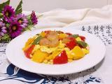 甜椒虾仁炒蛋的做法[图]