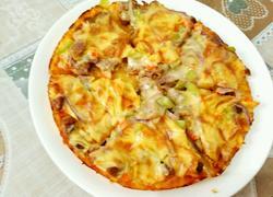 黑胡椒牛肉披萨