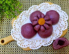 奶香紫薯包