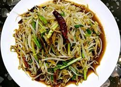 鲁菜大师蒋家常菜炒香辣豆牙肉丝