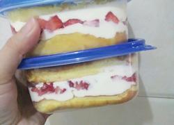 草莓盒子蛋糕