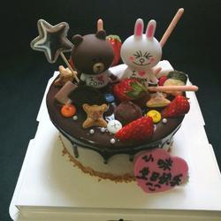巧克力淋面奥利奥咸奶油蛋糕(六寸)