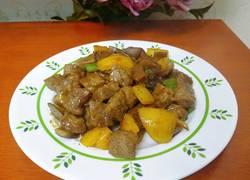 彩蔬黑椒牛肉粒