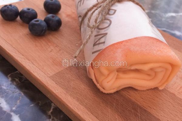 草莓毛巾卷