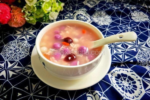 元宵节 珍珠米酒汤圆
