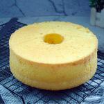 桔子汁戚风蛋糕的做法[图]